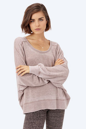 Maeve Open Back Kiki Pullover by Lovestitch Clothing