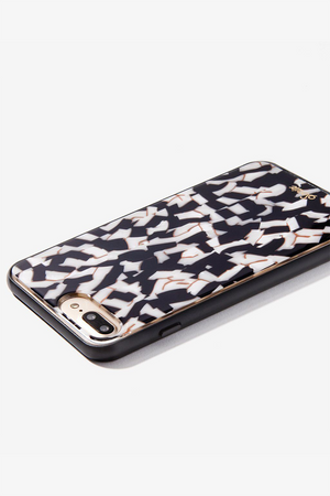 Black Pearl Tortoise iPhone Case by Sonix