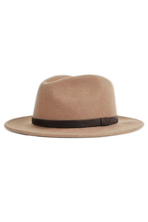 Tan Messer Fedora by Brixton
