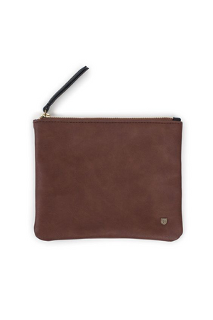 Brown Jill Clutch by Brixton