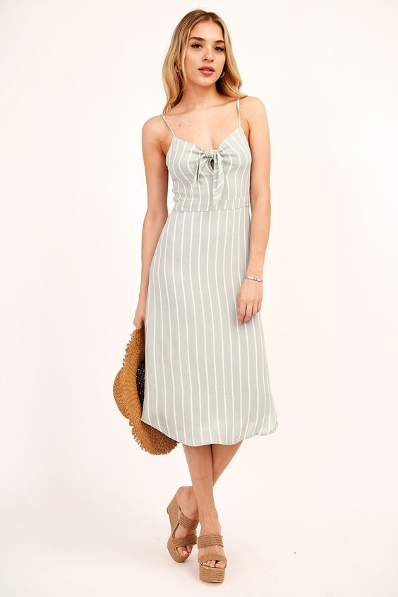 Santa Barbara Striped Dress