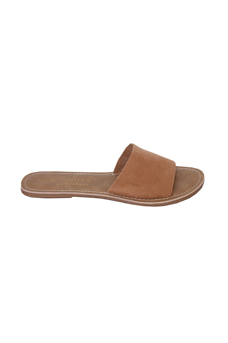Tan Cabana Slides by Matisse
