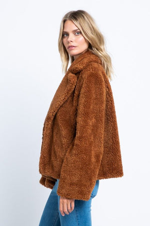 Almost Famous Brown Coat