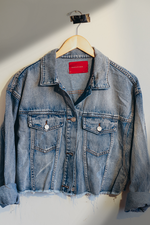Ojai Light Wash Denim Jacket