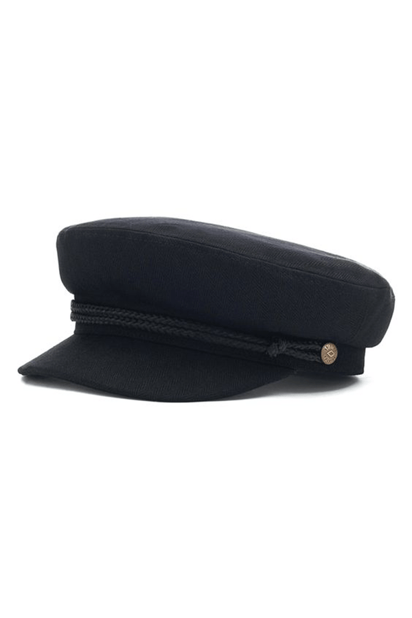 Black Fiddler Cap by Brixton