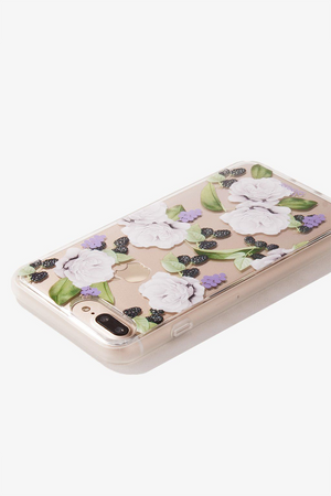 Floral Berry iPhone Case by Sonix