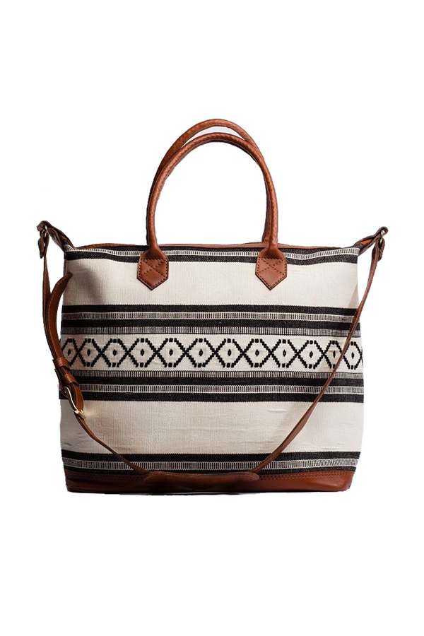 Flora Overnight Tote by Tribe Alive