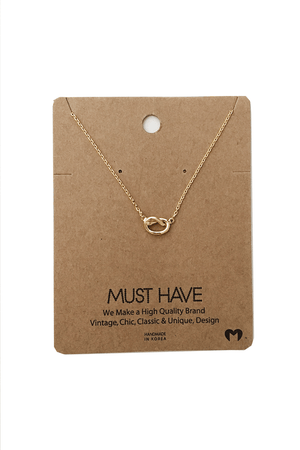 Knot Necklace by Must Have