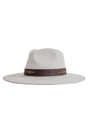 Rio Hat Gray by Brixton