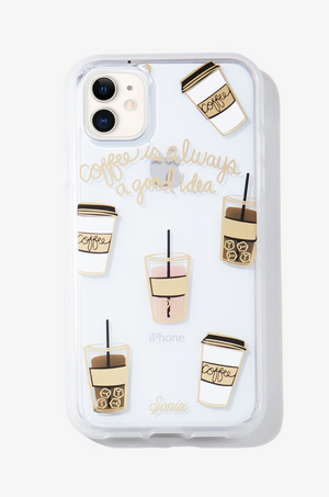 Coffee, iPhone Case by Sonix