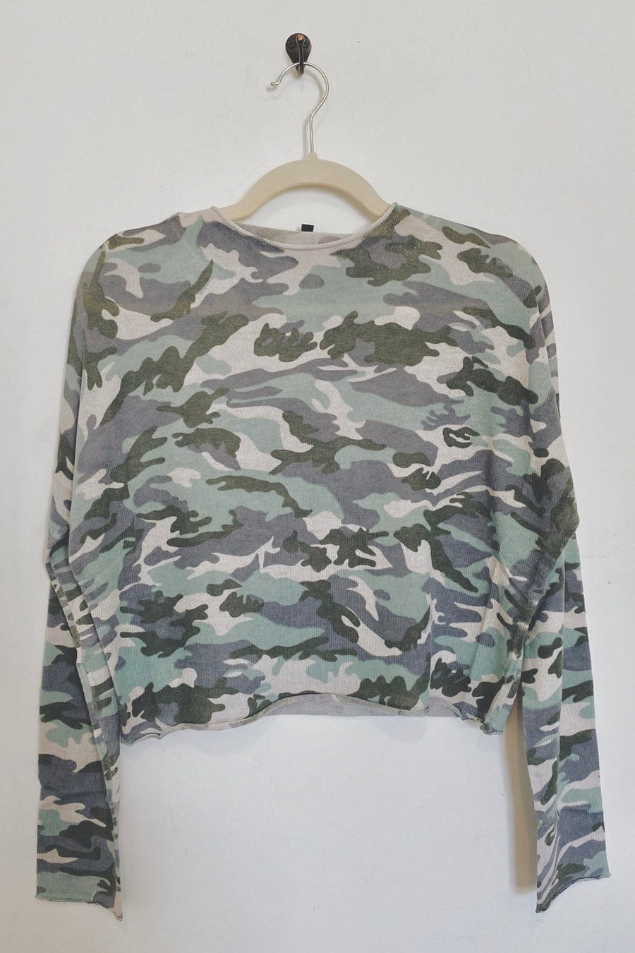 Can't See Me Camo Top