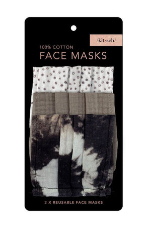 3 Pc Neutral Masks by Kitsch