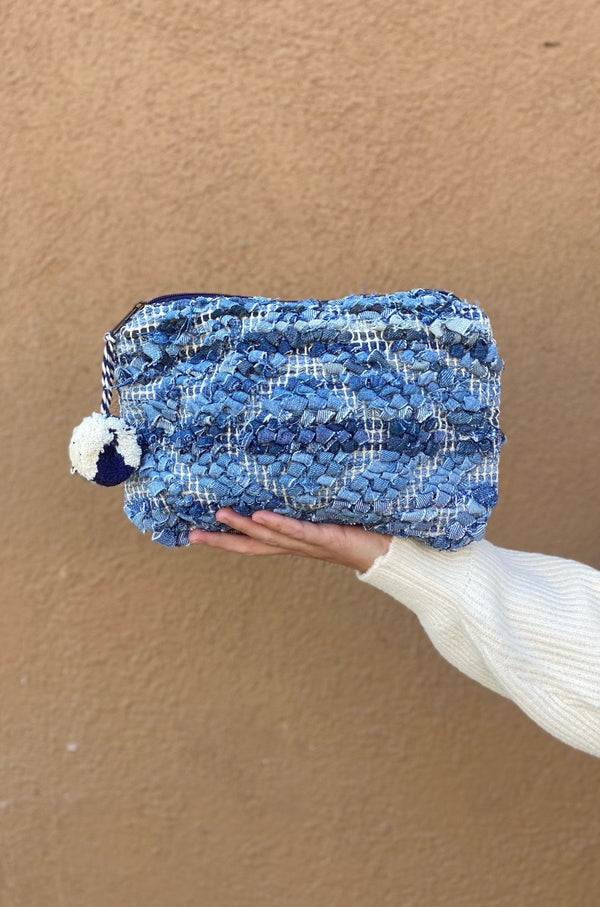 Blue Jean Baby Cosmetic Bag
