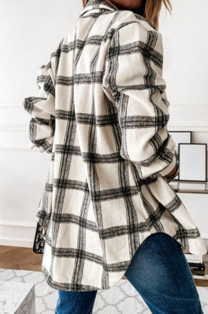 Misha Plaid Shacket