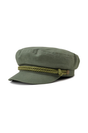 Light Olive Fiddler Cap by Brixton