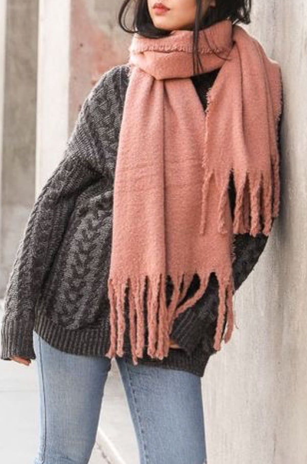 Wrap Me Up Tassel Scarf