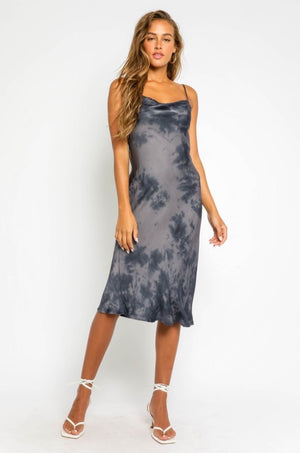 Twilight Tie Dye Midi Dress