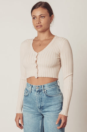All You Need Cropped Cardigan