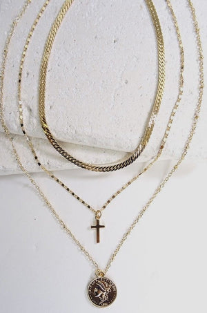 Gold St. Arroyo Necklace