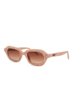 Anything Goes Sunglasses (Pink/Brown) by Quay