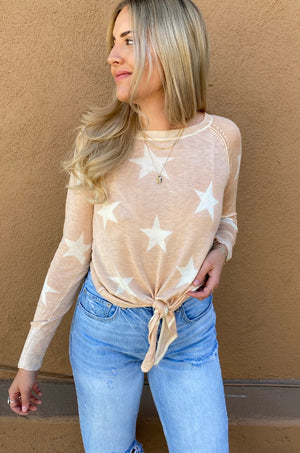 Blush Star Softest Sweater