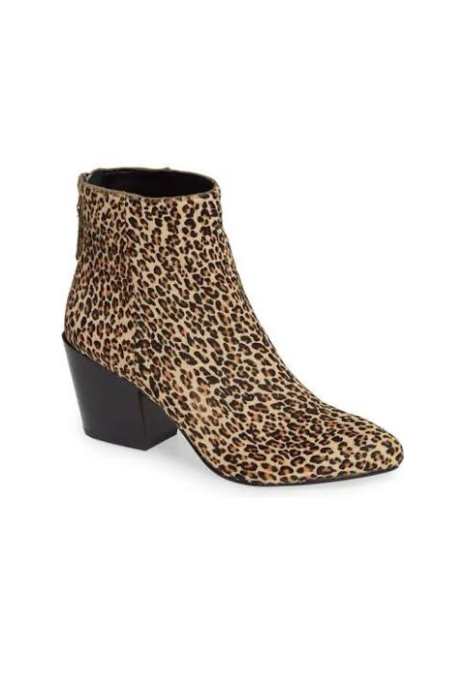 Coltyn Leopard Calf Hair Booties by Dolce Vita