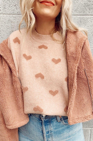 Cross My Heart Sweater