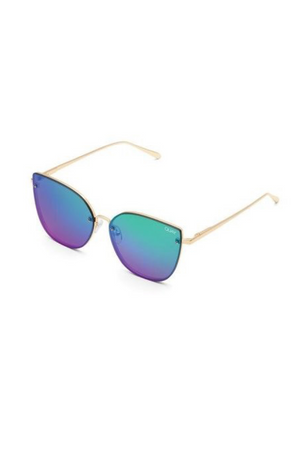 Lexi Sunglasses (Gold/Purple) by Quay