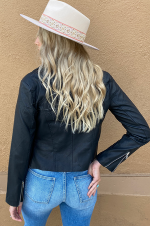 Lita Vegan Leather Jacket