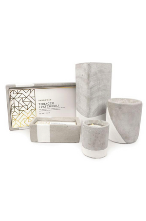 URBAN Tobacco + Patchouli Candle (Triangle) 28 Oz by Paddywax