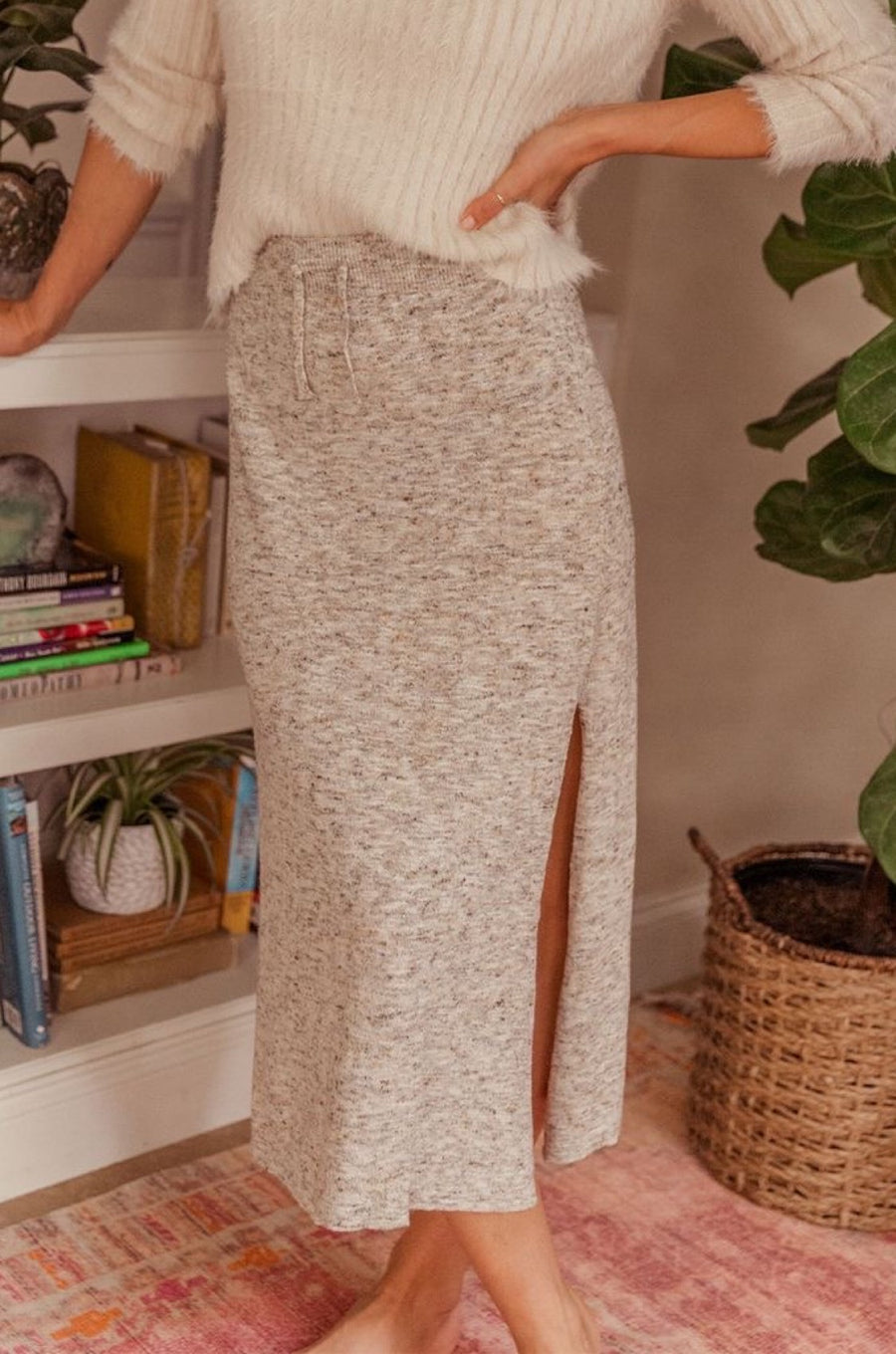 Lennox Knit Midi Skirt