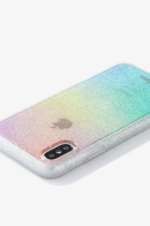 Rainbow Glitter iPhone (X/XS) Case by Sonix