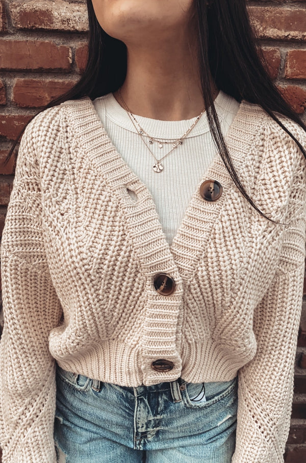 Wrightwood Cropped Cardigan