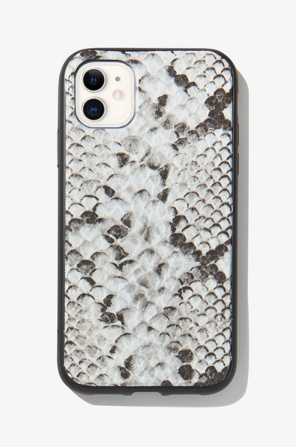 Gray Python, iPhone Case by Sonix