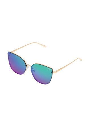 Lexi Sunglasses (Gold/Pink) by Quay