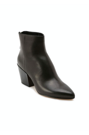 Coltyn Black Leather Booties by Dolce Vita