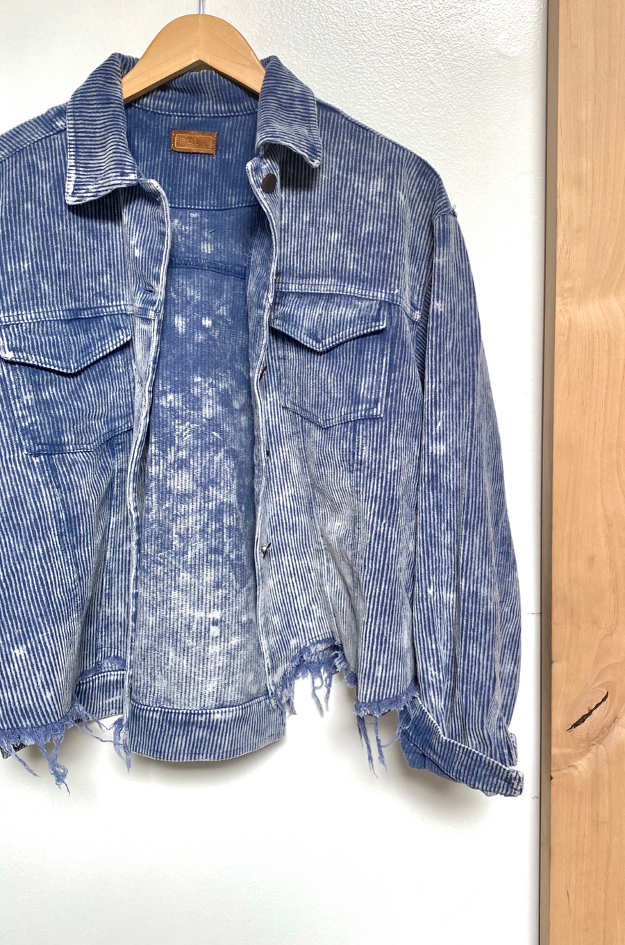 Faded Blue Lexie Corduroy Jacket
