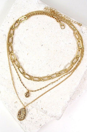 Gold Lima Necklace