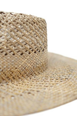 Seira Seagrass Rancher by Olive & Pique