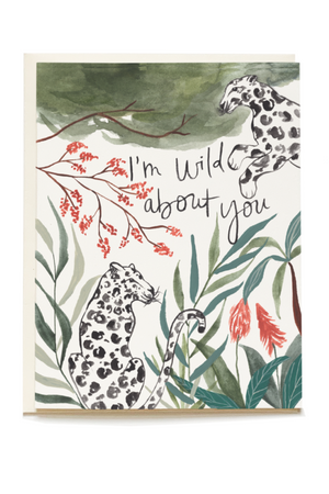 Wild About You Card by Pen + Pillar