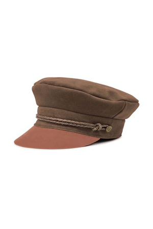 Brown Kayla Cap by Brixton