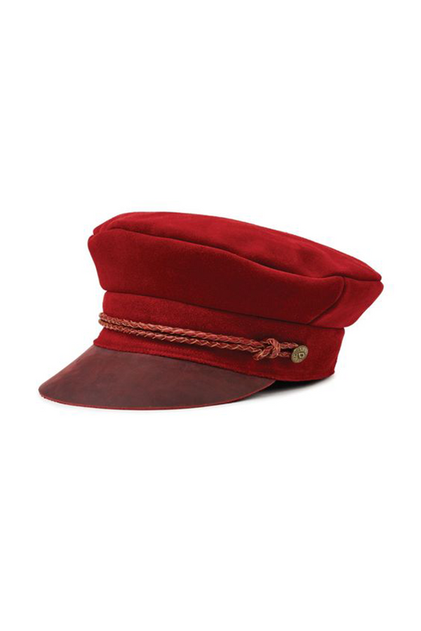 Red Kayla Cap by Brixton