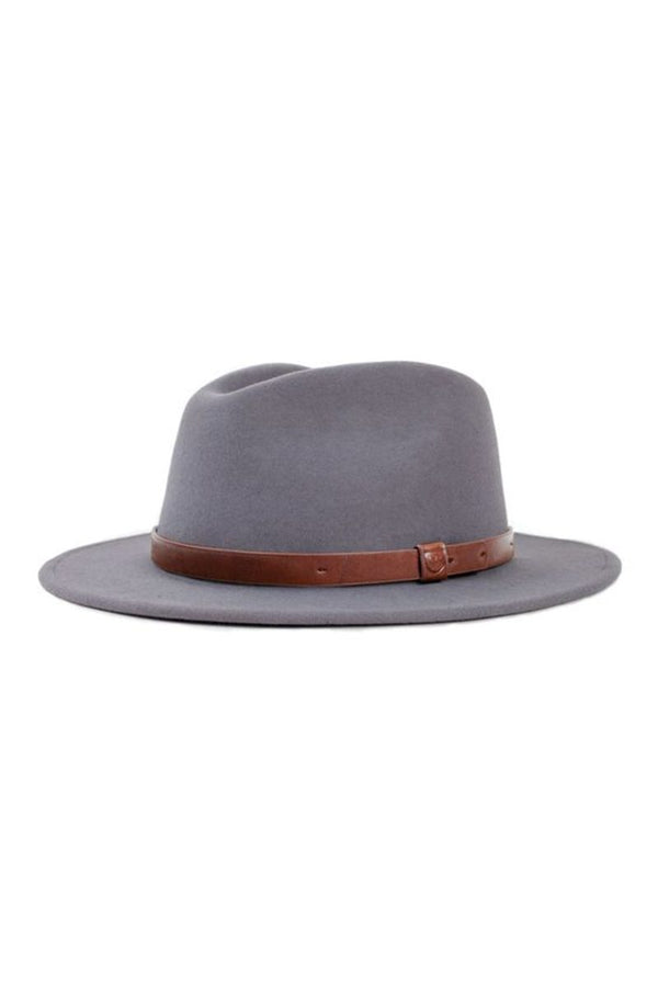 Gray Messer Fedora by Brixton