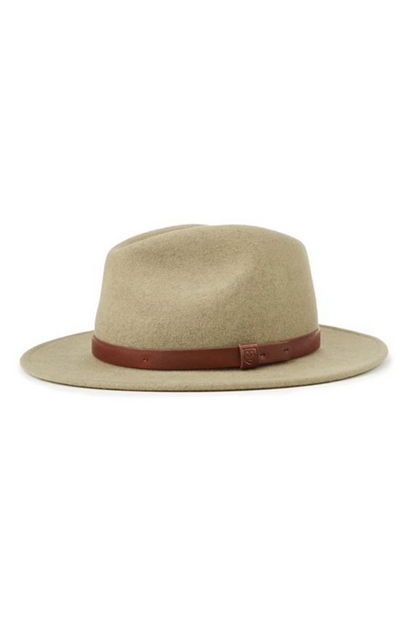 Washed Heather Messer Fedora by Brixton