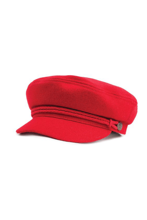 Red Ashland Cap by Brixton