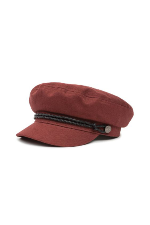 Burnt Siena Ashland Cap by Brixton