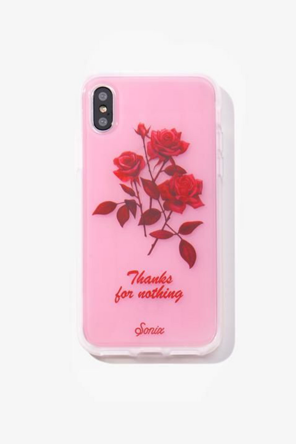 Thanks for Nothing iPhone Case by Sonix