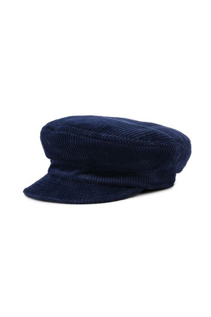 Blue Corduroy Unstructured Cap by Brixton