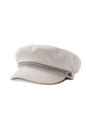 White Ashland Cap by Brixton