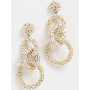 ecru- Springfield Tribeca Stretch Pull On Pant